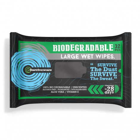 Surviveware Large Wet Wipes