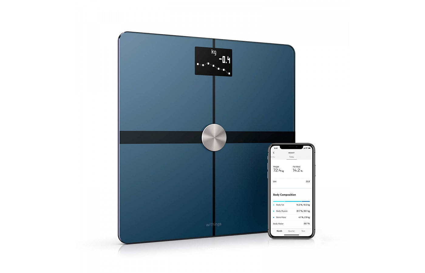 withings body+ scale angle