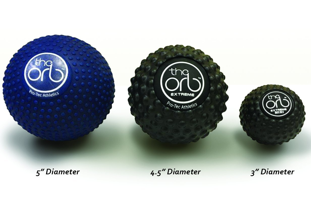 the orb massage ball all sizes