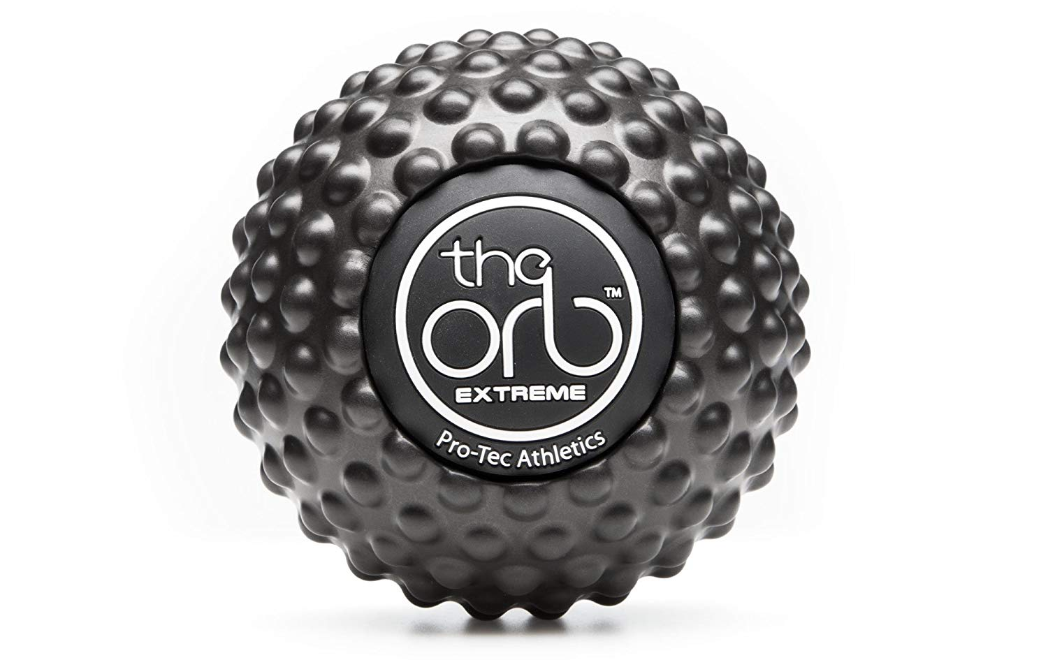 the orb massage ball extreme black