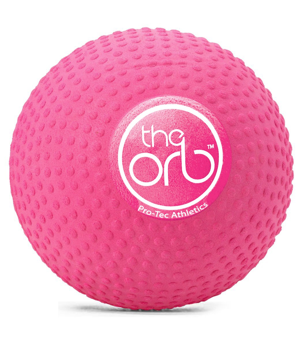 the orb massage ball pink