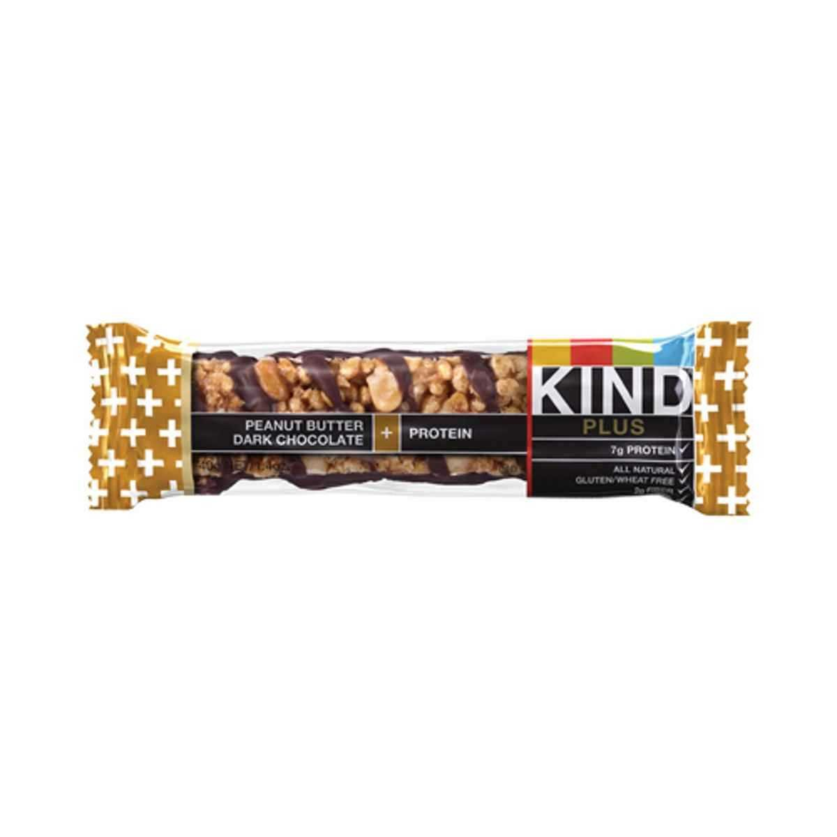 KIND Plus Nutrition Bars peanut butter