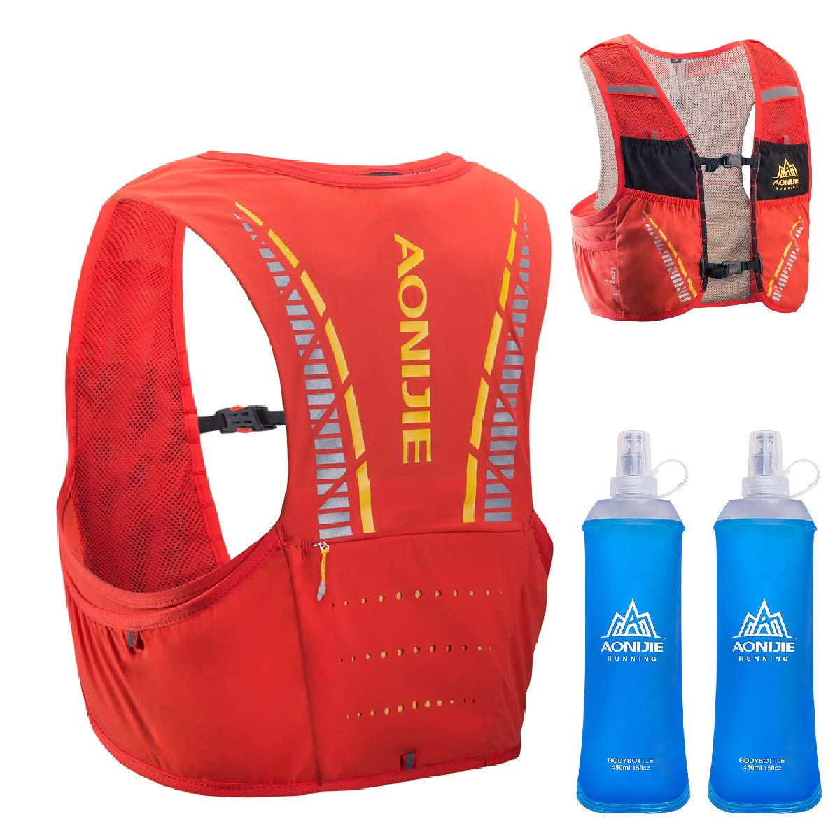 TRIWONDER 5L Hydration Vest red