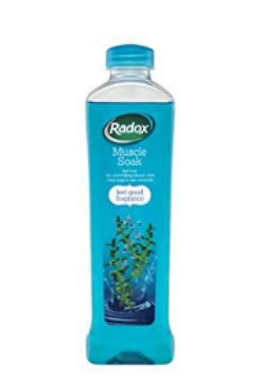 Radox Muscle Soak Clary Sage for perfection relaxation during a bath