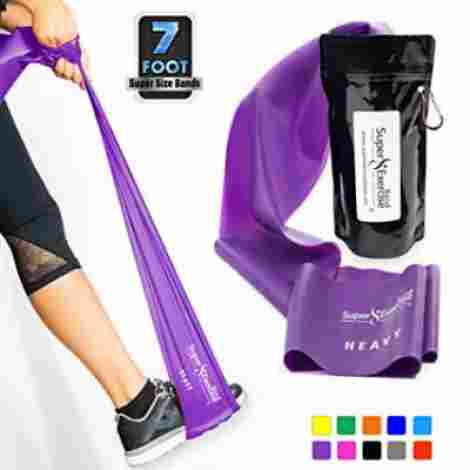 10. Super Exercise Band Latex-Free