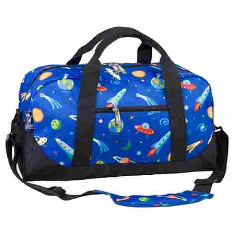 7. Olive Kids Trains, Planes and Trucks Overnighter Duffel Bag