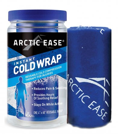 Artic Ease a cold wrap which is great for aching joints and muscles