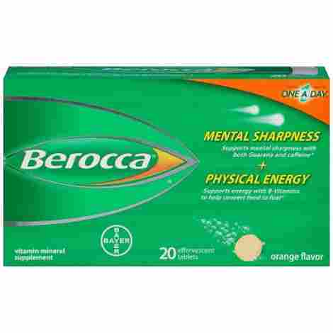 10. Berocca with Caffeine