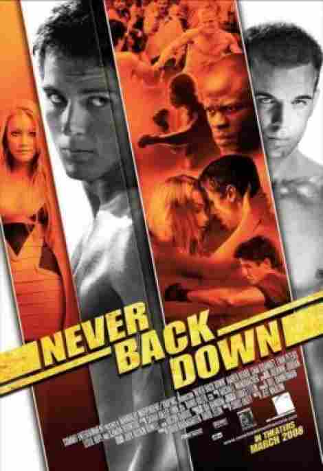8. Never Back Down