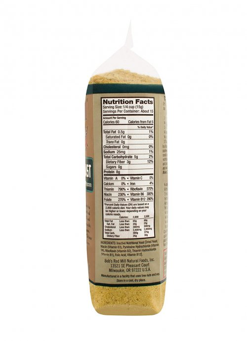 Bob's Red Mill  Nutritional Yeast Flakes Ingredients