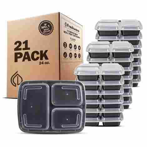 6. Freshware Stackable