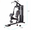 Marcy Stack Dual Function best home gyms