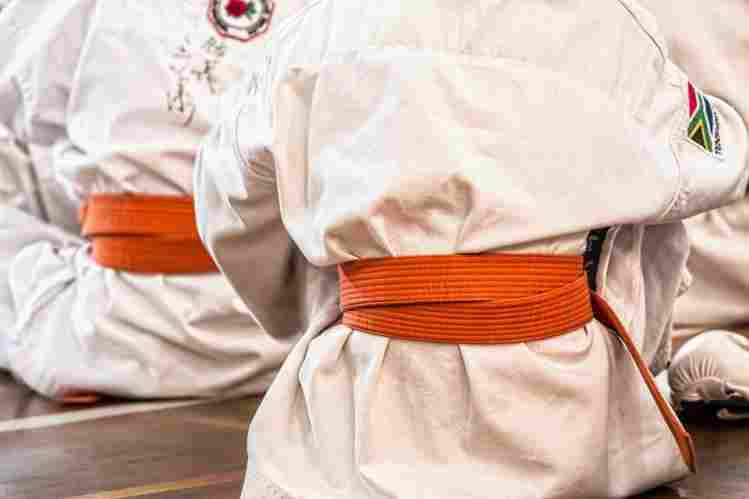 Orange Best BJJ GI