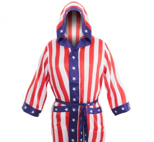 American Flag Robe boxing gifts