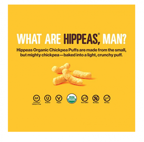HIPPEAS Chickpea Puffs fighting report