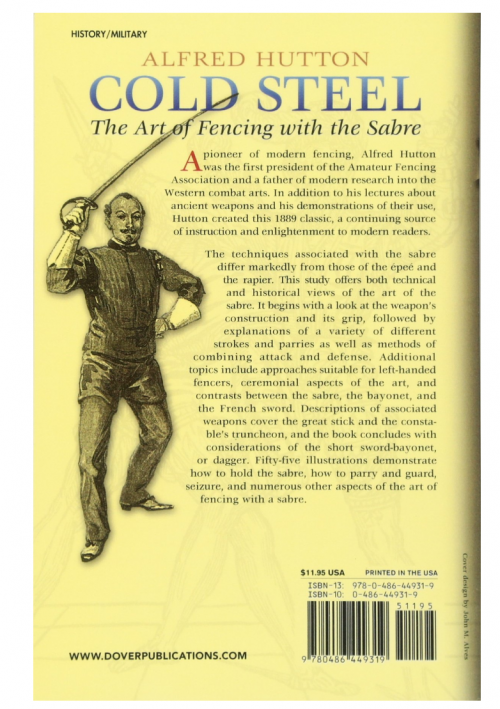 Cold Steel: The Art of Fencing with the Sabre fighting report
