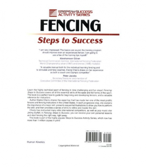 Fencing: Steps to Success fighting report