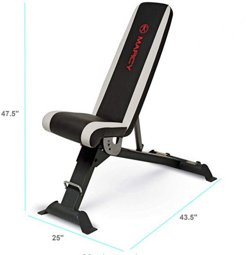 Marcy Adjustable Utility Bench for Home Gym Workout SB-670 fighting report