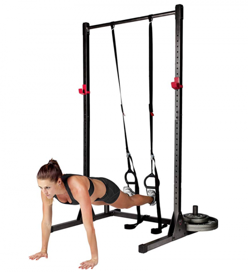 Cap Barbell Power Rack Exercise Stand fighting report