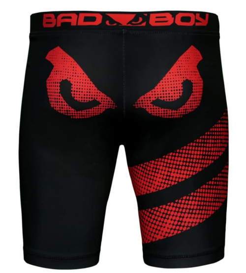 Bad Boy Classic Polyester Competition MMA Mixed Martial Arts Vale Tudo Shorts Back