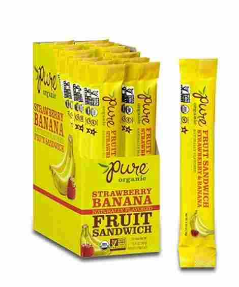 9. Pure Organic Fruit Bar