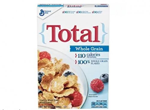 Total Cereal fighting report