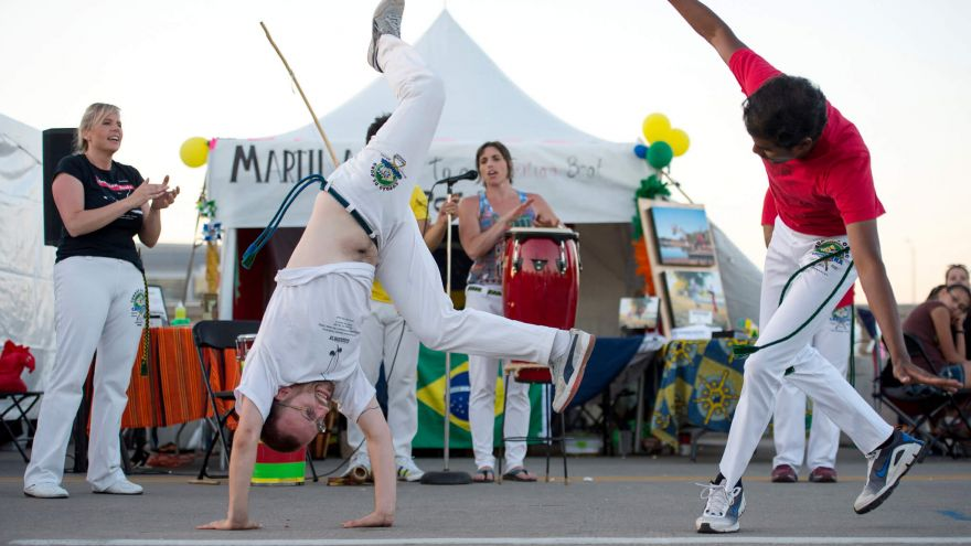 Advanced Workouts: Capoeira Acrobatics