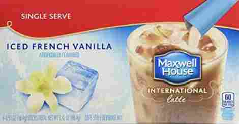 7. Maxwell House Iced Latte