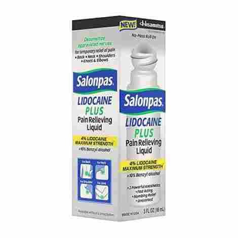 8. Salonpas Lidocaine Plus