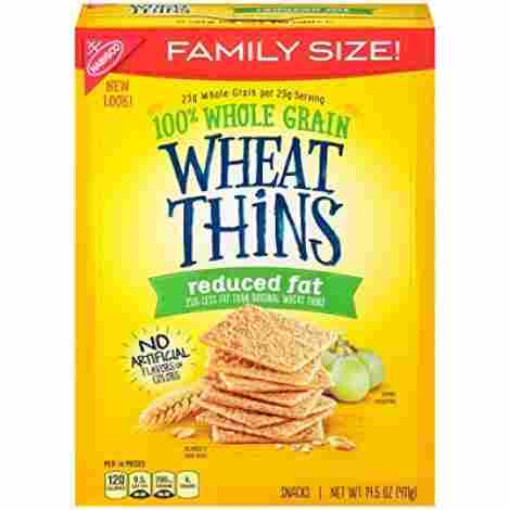 3. Wheat Thins Reduced Fat